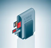 Portable Card Reader Royalty Free Stock Images