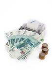 Portable Cash register Stock Photo