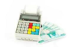 Portable Cash register Royalty Free Stock Image