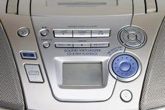 Free Portable CD Player Controls Royalty Free Stock Photos - 13100648