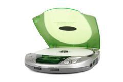 Portable CD player Royalty Free Stock Photo