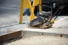 Portable compactor Royalty Free Stock Photo