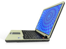 Portable computer laptop Royalty Free Stock Image