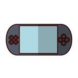 Portable console videogame Stock Photography