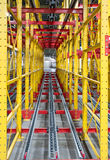 Portable conveyor line Royalty Free Stock Photography