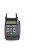 Portable Credit Card Terminal on Base Royalty Free Stock Image