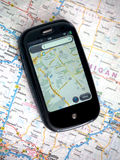 Portable de GPS Photographie stock