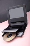 portable de lecteur DVD Images libres de droits