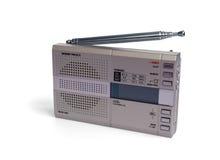 Portable digital radio. Miniature portable digital radio receiver Stock Images