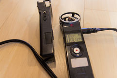Portable Digital voice Recorder Royalty Free Stock Photo