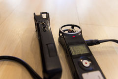 Portable Digital voice Recorder Royalty Free Stock Photos