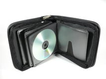 Portable Disc Case Stock Photography