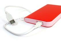 portable dur externe de disque Photographie stock libre de droits