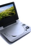 Portable DVD player. Royalty Free Stock Photography