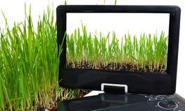 Portable dvd player Stock Photography
