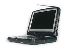 Portable dvd player. This is portable dvd player Stock Photos