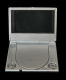 Portable DVD Player Isolated on Royalty Free Stock Images