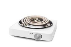 Portable eelctric stove Stock Photos