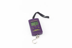 Portable Electronic Scale isolated Stock Images