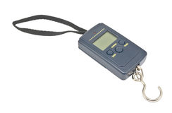 Portable electronic scale Stock Images