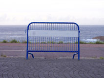 Portable fence Royalty Free Stock Images