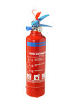 Portable Fire Extinguisher. On White Background Royalty Free Stock Photo