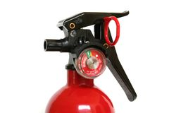 Portable fire extinguisher Royalty Free Stock Photography