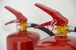 Portable fire extinguisher Stock Photography