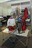 Portable fire-extinguishing system Stock Photos
