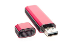 Portable flash usb Royalty Free Stock Photo