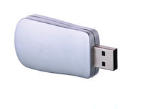 Portable flash usb drive memory Stock Images