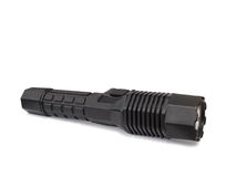 Portable flashlight Stock Images