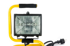 Portable floodlight Royalty Free Stock Photos