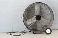 Portable Floor Fan. stock photos
