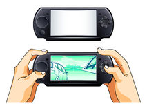 Portable gamepad Royalty Free Stock Images
