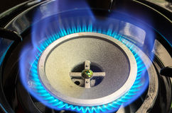 Portable Gas Burner Stock Image