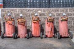 Portable Gas Pump Stock Photos