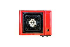 Portable Gas Stove Isolated Royalty Free Stock Photography
