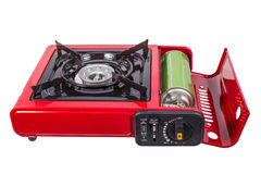 Portable gas stove Royalty Free Stock Image