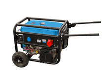 Portable generator Royalty Free Stock Photo
