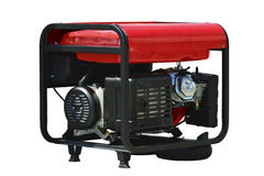 Portable generator Royalty Free Stock Images