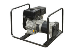 Portable generator Stock Photography