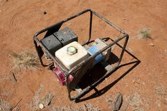 Portable Generator. Run on Fuel Royalty Free Stock Images