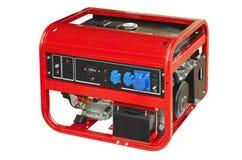 Portable generator. On a white background Stock Photo