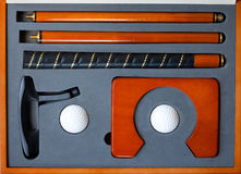 Portable golf set Royalty Free Stock Photos