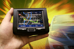 Portable GPS Royalty Free Stock Photography