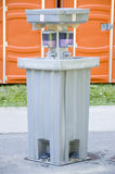 Portable Hand Washing Stall Royalty Free Stock Images