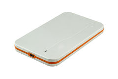 Portable hard disk drive Stock Images
