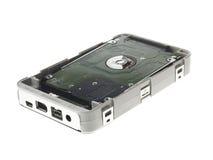 Portable hard drive Royalty Free Stock Image