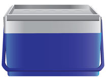 Portable household refrigerator Stock Images